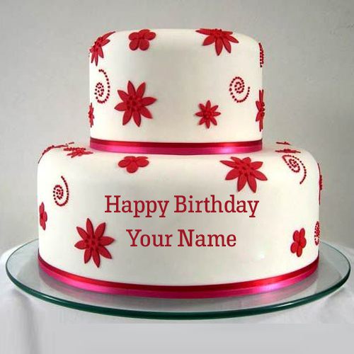 Happy Birthday Cake For Men With Editing