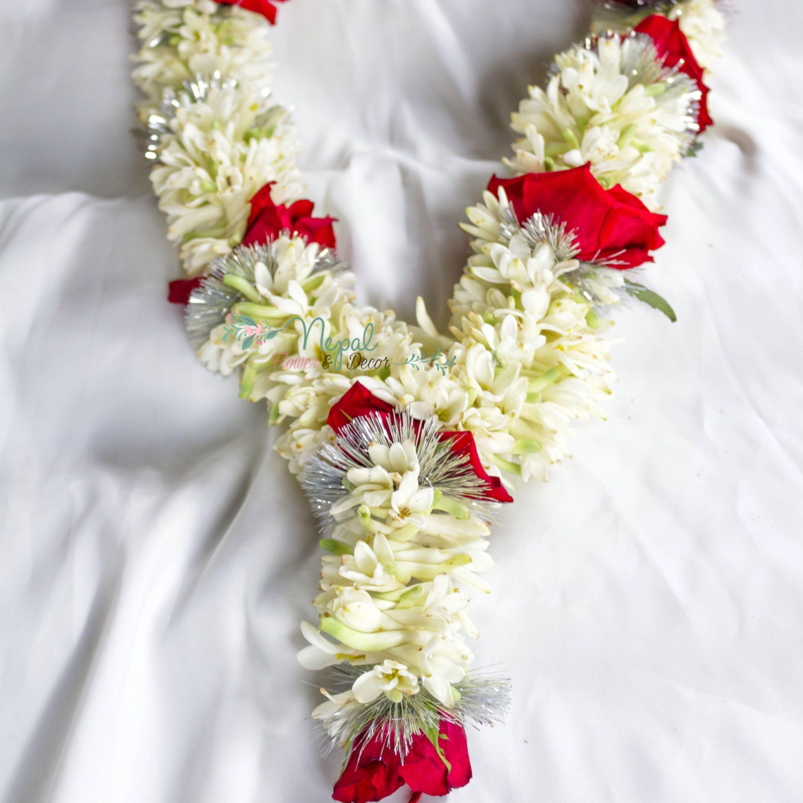 Tuberose Garland Wedding Garland In Nepal Rajanigandha Mala